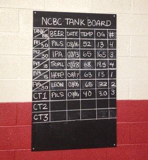Neshaminy Creek tank board