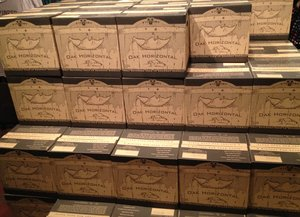 Victory Oak Horizontal Boxes at the Brewery Store