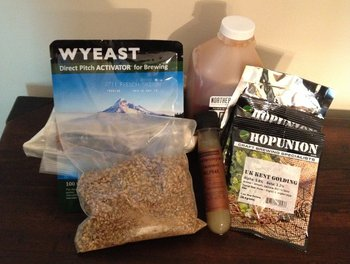 Ingredients for Kaedrome Saison
