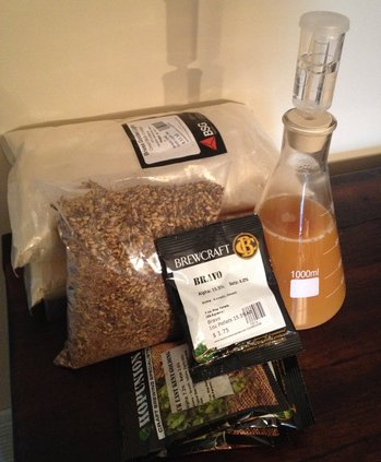 Barleywine Ingredients