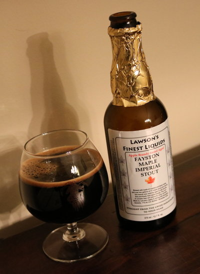 Lawsons Finest Liquids Apple Brandy Barrel Aged Fayston Maple Imperial Stout