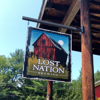 Lost Nation sign