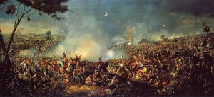 Battle of Waterloo 1815 by William Sadler