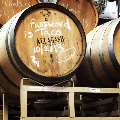 Allagash Password is Taco Barrel