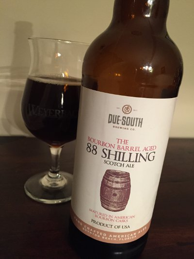 Due South Bourbon Barrel Aged 88 Shilling