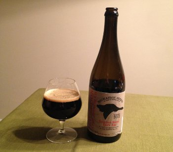 Evolution Bourbon Barrel Dark Ale - Winter Migration 2012