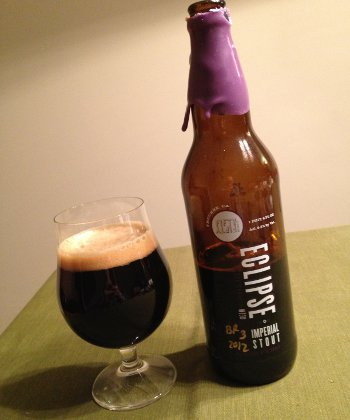 FiftyFifty Imperial Eclipse Stout Elijah Craig 12