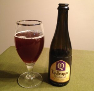 La Trappe Quadrupel oak aged batch 7