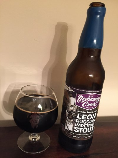 Neshaminy Creek Buffalo Trace Barrel Aged Leon