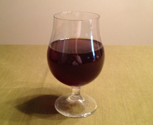 Abbey Dubbel, pre bottle conditioning