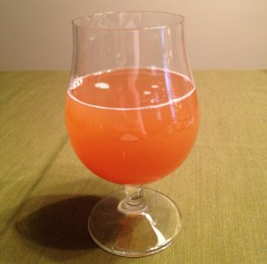 Post-Fermentation, Pre-Conditioning Earl Grey Bitter 