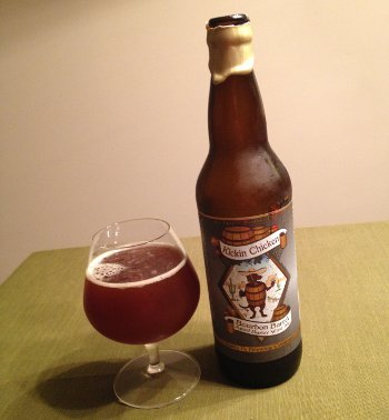 Santa Fe Kickin Chicken Bourbon Barrel Barley Wine