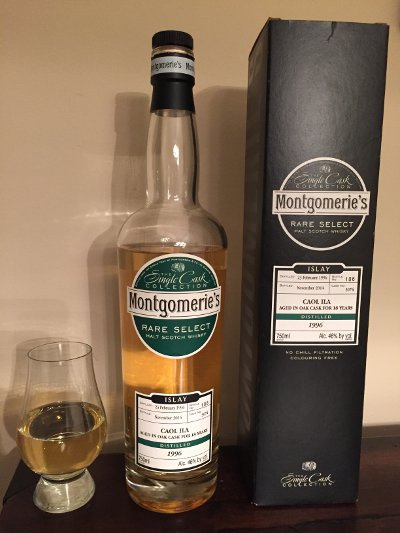 Caol Ila 18 Year Old Montgomeries