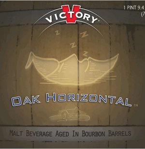 Victory Oak Horizontal Label
