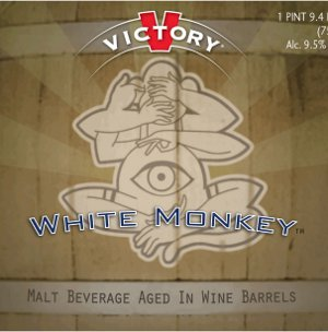 Victory White Monkey Label