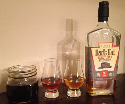 Dads Hat Rye Whiskey and a mad scientist variant