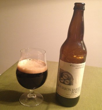 Williamsburg AleWerks Bourbon Barrel Porter