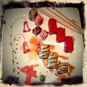 Sushi plate and design