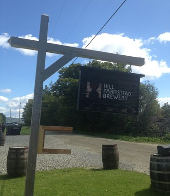 Hill Farmstead Sign