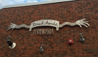 Another sign outside of the Fermentaria