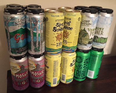 Operation Cheddar IV Haul - Cans