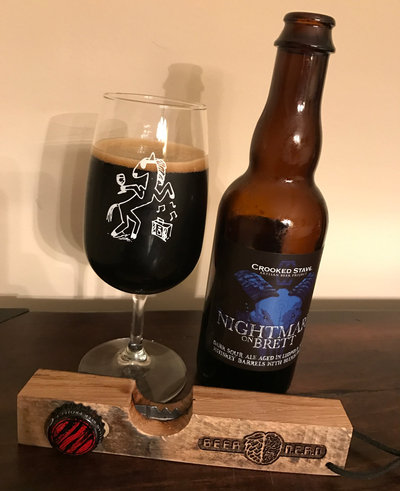 Crooked Stave Nightmare On Brett with Blueberries