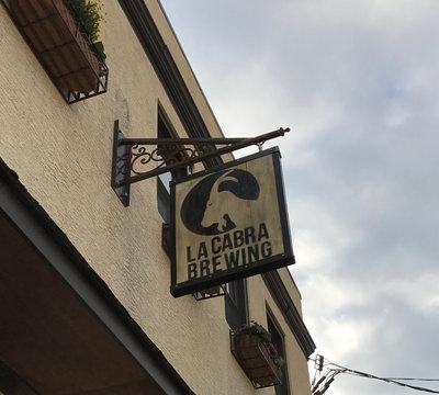 La Cabra sign