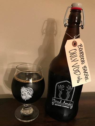 Tired Hands Bourbon Barrel Aged Only Void