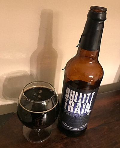Levante Bourbon Barrel Aged Bullit Train Bottle