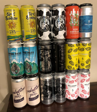 Moar Cans. Mark likes cans.