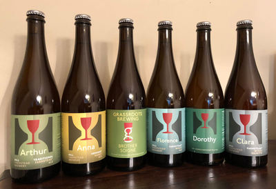 Haul of Hill Farmstead bottles that I want to lick