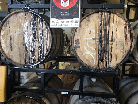 Cerebral Brewing Barrels