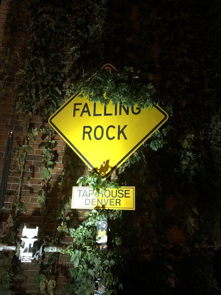 Falling Rock in Denver