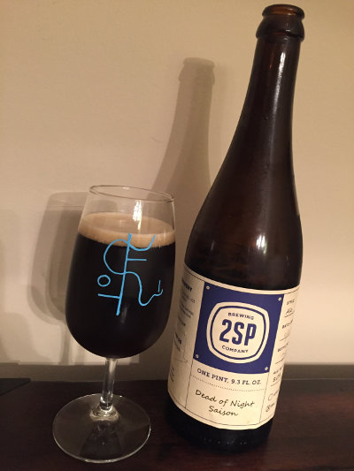 2SP Barrel-Aged Dead of Night Saison