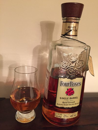 Four Roses Private Selection for White Horse Wine and Spirits
