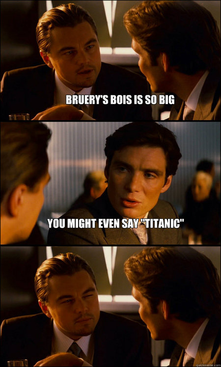 Leo Likes Titanic Beer