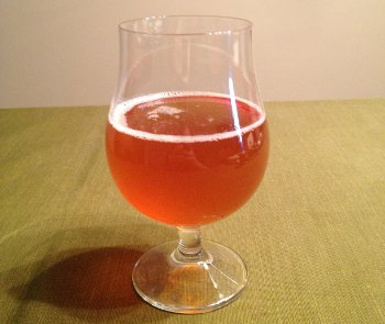 Pre-Bottle-Conditioned Fat Weekend IPA.