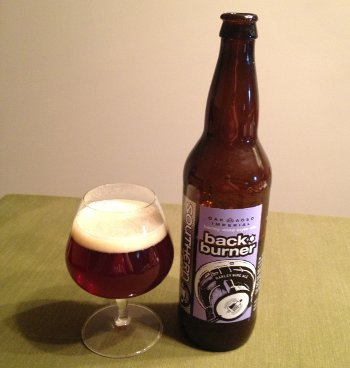 Southern Tier Oak-Aged Backburner (Imperial Barley Wine Style Ale)