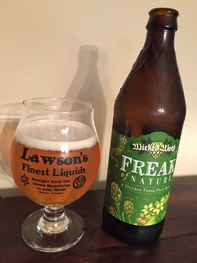Wicked Weed Freak of Nature Double IPA