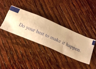 Fortune Cookies Never Lie